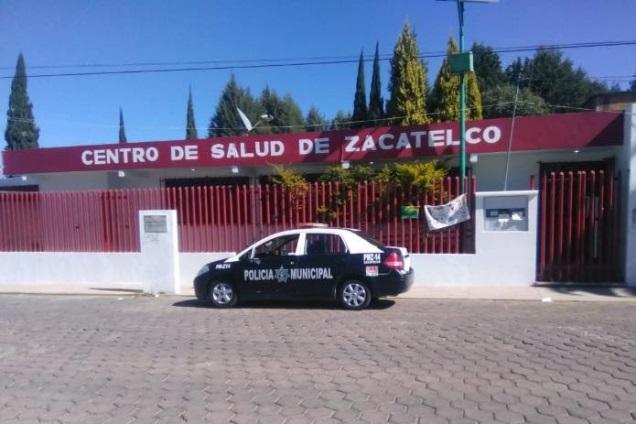 Reportan asalto del Centro de Salud de Zacatelco