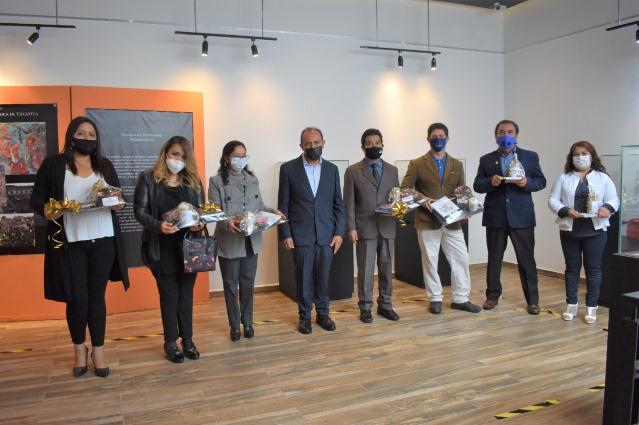 Felicita INAH a galería Domingo Arenas en su segundo aniversario
