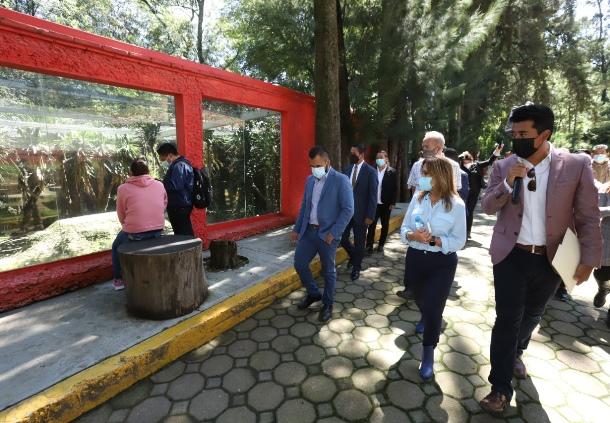 Ordena Lorena Cuéllar acciones de atención en zoológico del Altiplano