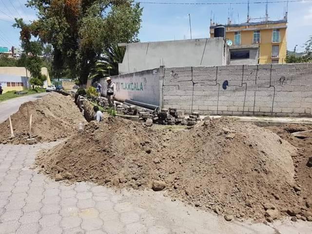 Realiza CAPAM trabajos de rehabilitación de drenaje sanitario