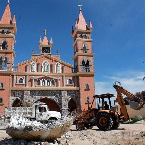 Hace 3 años demolieron una iglesia en SPM y no hay castigados