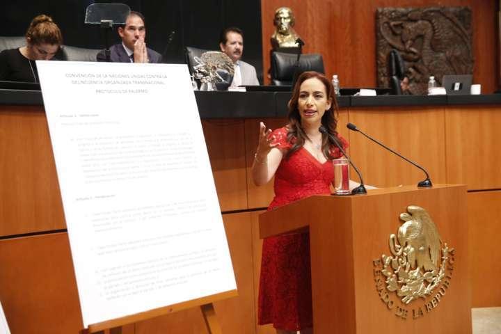 Aprueba Senado Reformas a la Ley Contra la Trata de Personas