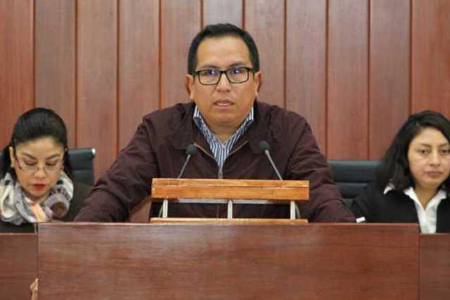 Chema presentó la minuta para prohibir la condonación de impuestos