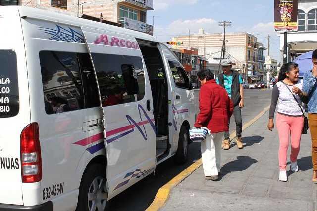 Transporte circula sin medidas preventivas de contagio del COVID
