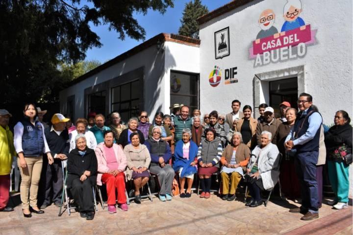 El SMDIF abrió las puertas al aula de computo en la casa del abuelo: JOD