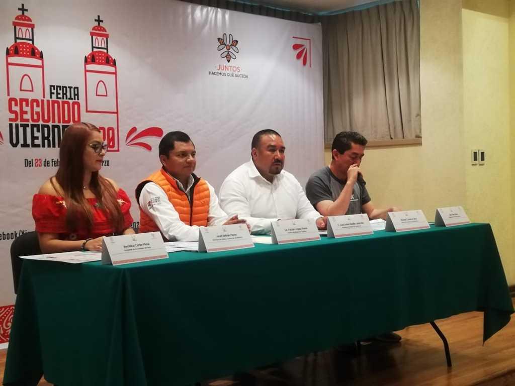 Feria del Segundo Viernes generará una derrama de económica de 1.5 mdp