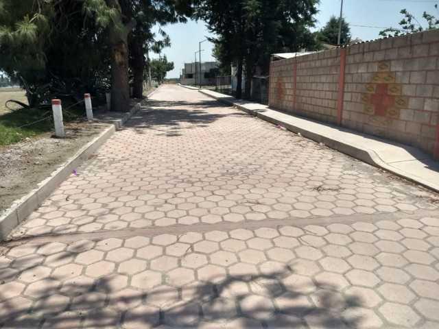 Alcalde de Huamantla beneficia a habitantes de San Martín Notario