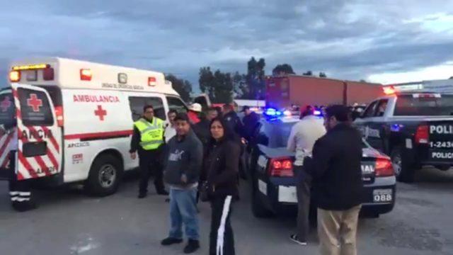 Otro accidente con lesionados involucra a unidad de Flecha Azul