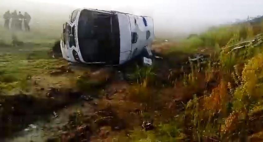Accidente deja 29 lesionados en Tetla