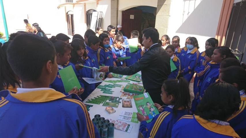 PGR realiza acciones de prevención del delito en Panotla