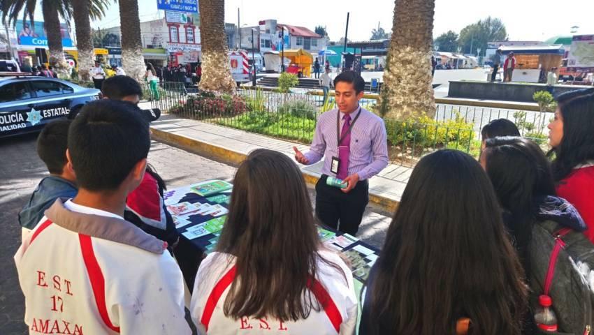 PGR lleva a cabo acciones de prevención en Amaxac de Guerrero