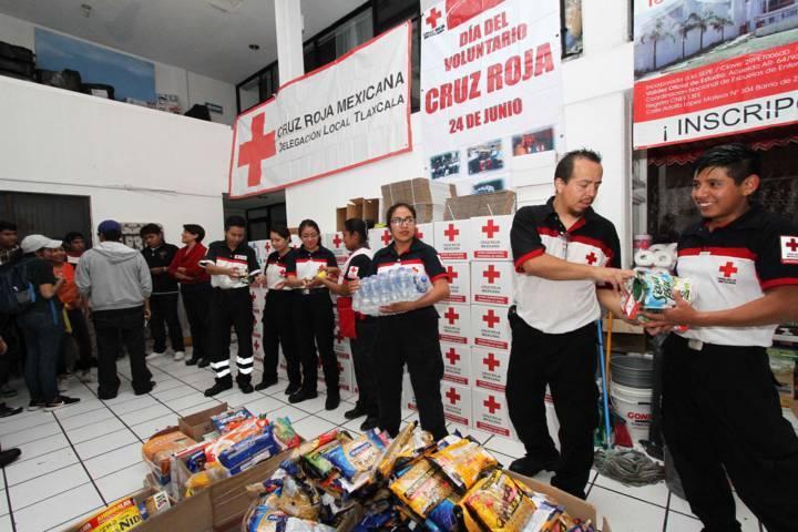 Mantiene Tlaxcala Centros de Acopio tras sismos