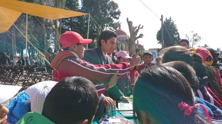 PGR Tlaxcala realiza actividades de prevención del delito en Tetla