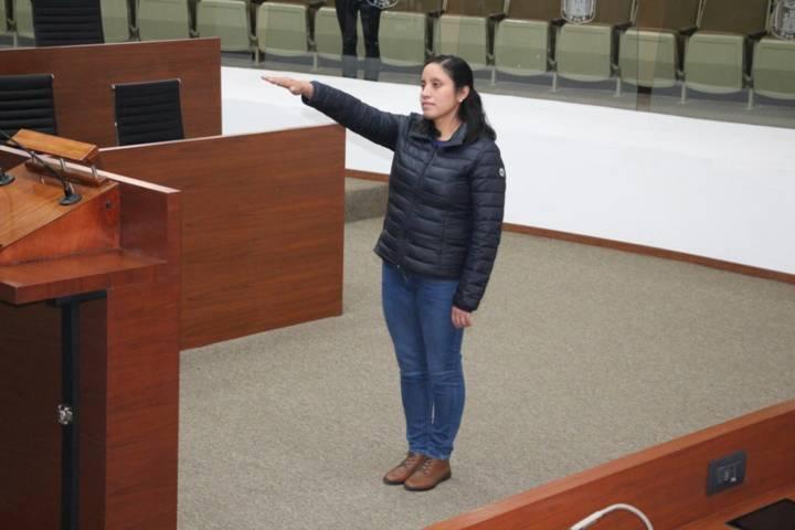 Designan a nueva actuaria parlamentaria del Congreso del Estado