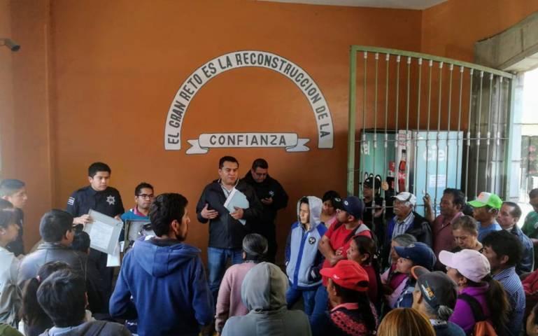 Alcanzan acuerdos Dirección de Seguridad de la capital y Antorcha Campesina