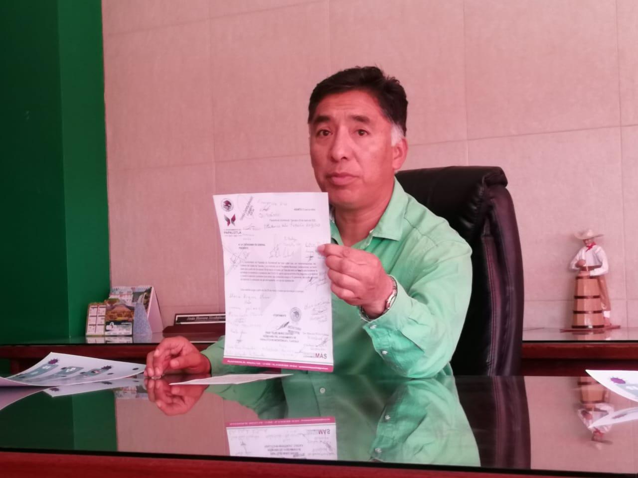 Desmienten casos de COVID en Papalotla, vigentes protocolos de prevención