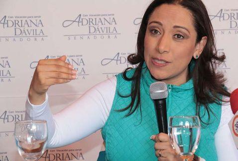 Un fracaso reafiliación en el PAN, huyen de Adriana Dávila