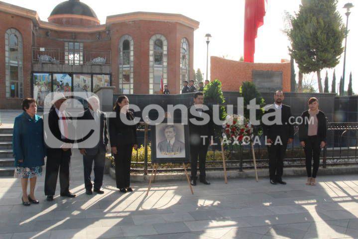 Autoridades conmemoran a Antonino Juncos en su 57 aniversario luctuoso