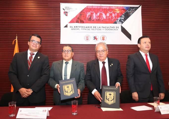 Inician actividades del 54 Aniversario de la Facultad de Derecho de la UATx