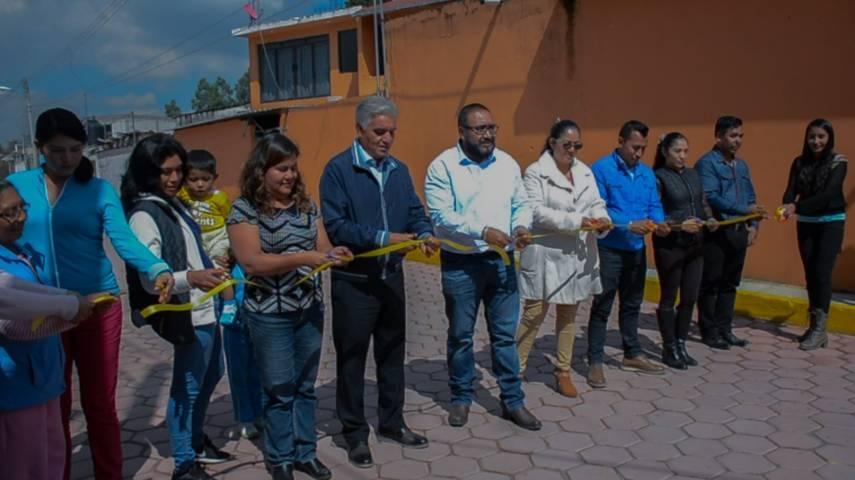 Badillo Jaramillo cumple su palabra y pavimenta la 20 de noviembre