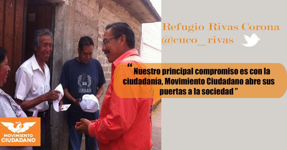 Vecinos del municipio de Españita, se afilian a Movimiento Ciudadano