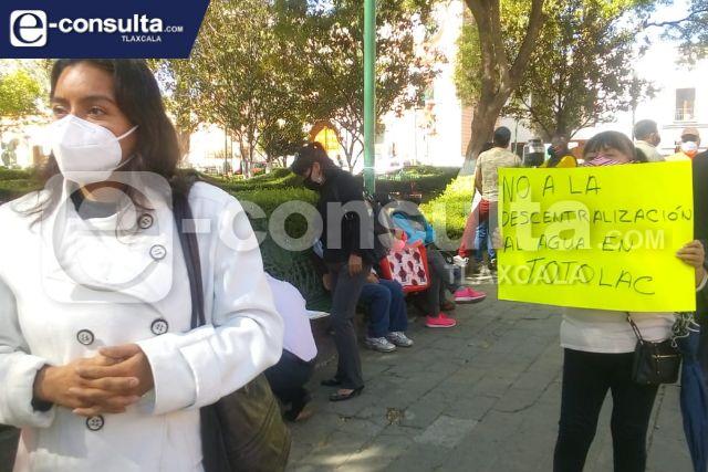 Políticos de Totolac insisten en echar abajo la Comisión de Agua Potable