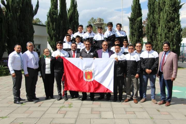 Abandera Cecyte a delegación que competirá en Judenems Aguascalientes 2019