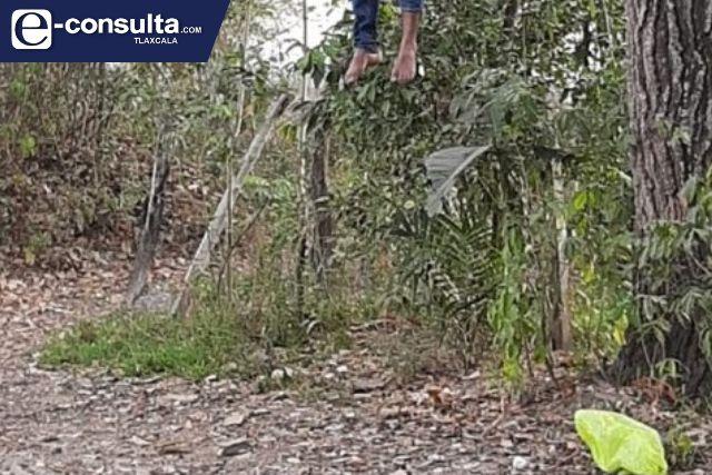 Sujeto se ahorca en Nanacamilpa, se desconocen las razones de la decisión
