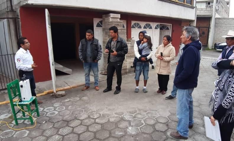 Continúa comuna de Tlaxcala con entrega de alarmas vecinales