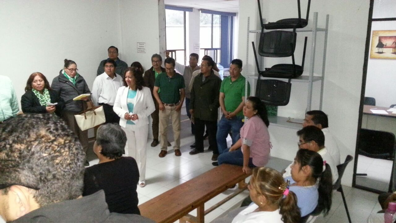 Ofrece Alberta Hernández un cambio verdadero a favor de los trabajadores del Sector Salud