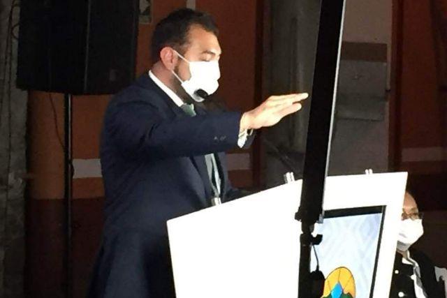 Salvador Santos toma protesta como alcalde de Huamantla