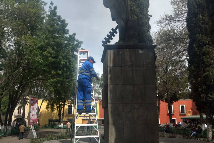 Implementa comuna de Tlaxcala Programa de Limpieza de Alcantarillas