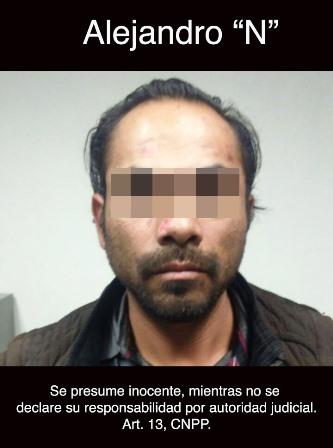 Capturan a presunto tratante; engañaba a mujeres para prostituirlas