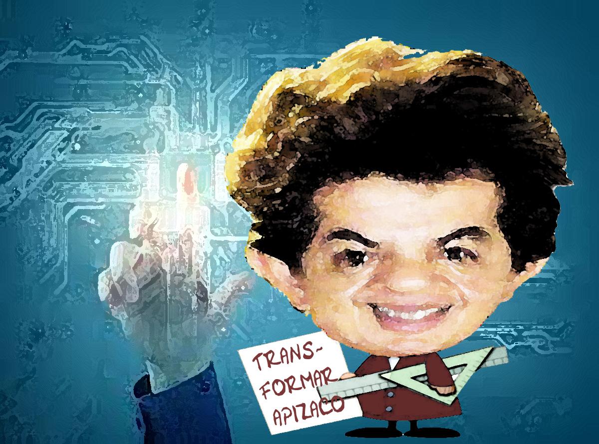 Alejandro Parra, va a transformar e innovar Apizaco