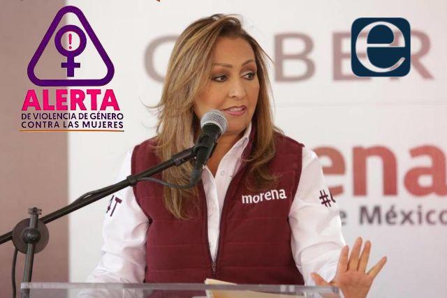 Lorena Cuéllar anuncia que activará la Alerta de Género en Tlaxcala