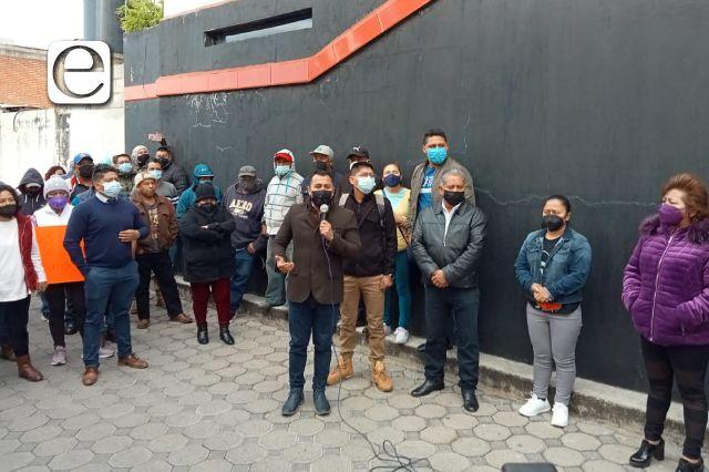 Edil de Xicohtzinco se deslinda de los actos violentos; urgen solución al gobierno