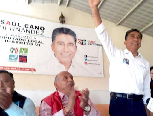 Descarado, sinvergüenza y transa le llaman a candidato del PRI