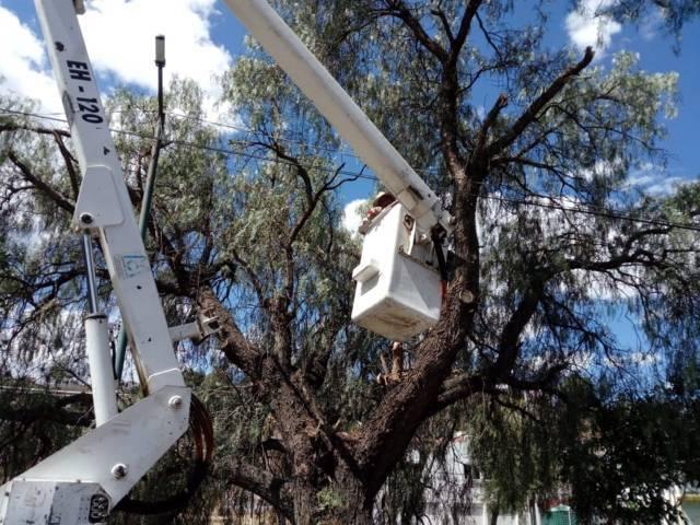 Rehabilita alcaldía capitalina 25 luminarias en Acuitlapilco