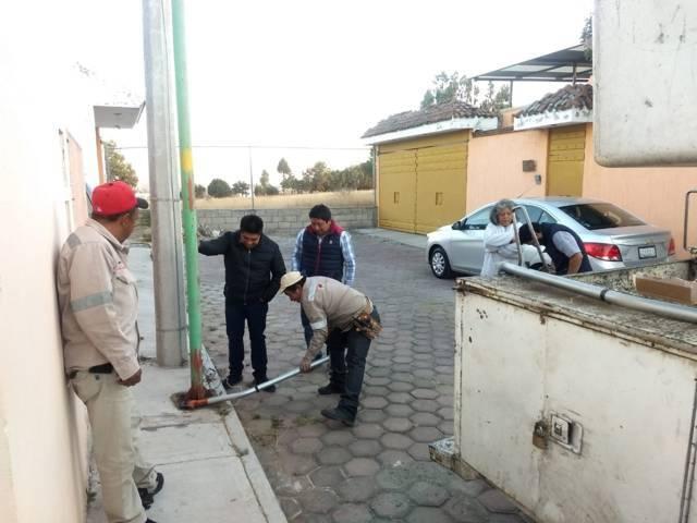 Continúa Servicios Públicos de la capital con rehabilitación del sistema de alumbrado