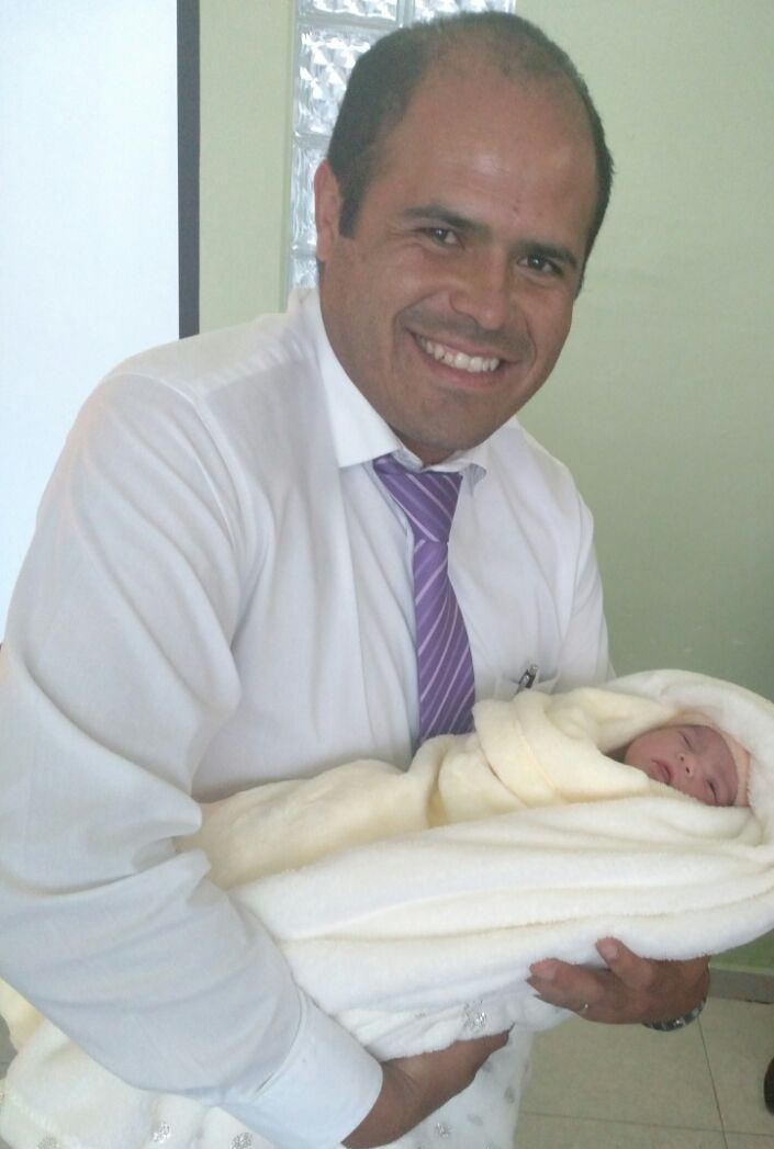 Anunció Sanabria Chávez nacimiento de su  bebé