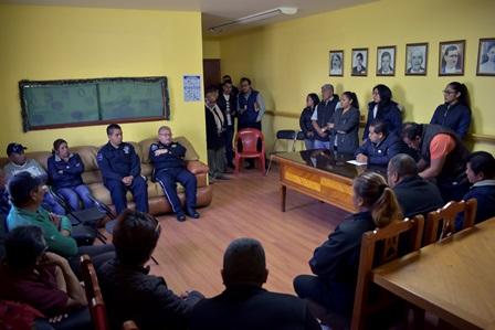 Carin Molina garantiza la seguridad pública en el municipio
