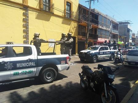 Policía de Amaxac detienen a sujeto con orden de reaprehensión