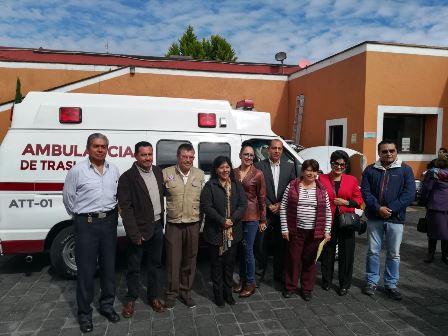Adquiere ayuntamiento capitalino ambulancia para traslados