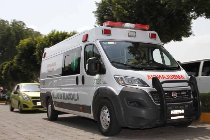 Atiende SESA a lesionados de accidente en Calpulalpan