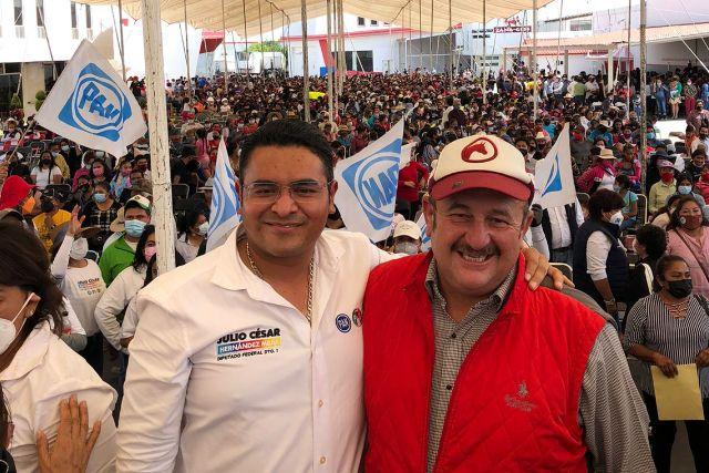 No nos equivoquemos, votemos por Julio Hernández: Alfonso Sánchez Manzanilla