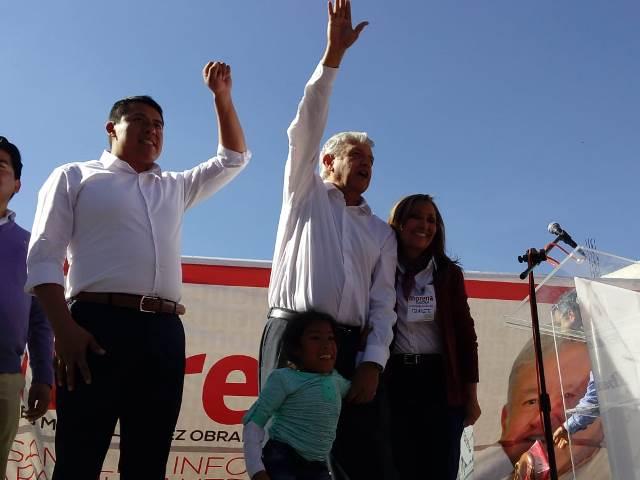 Regresará AMLO a Tlaxcala y cerrará campaña con Rubén Terán