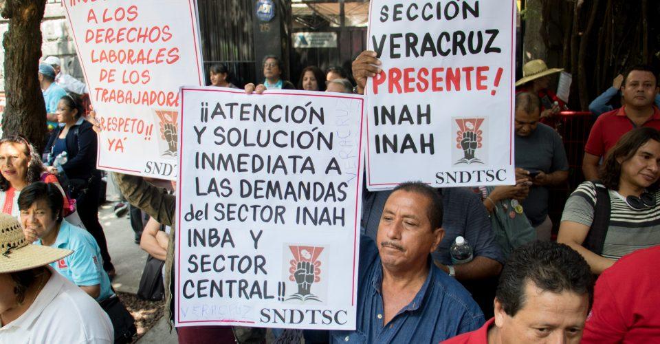 No quieren irse a Tlaxcala: trabajadores de Cultura rechazan plan de AMLO para mudar Secretaría