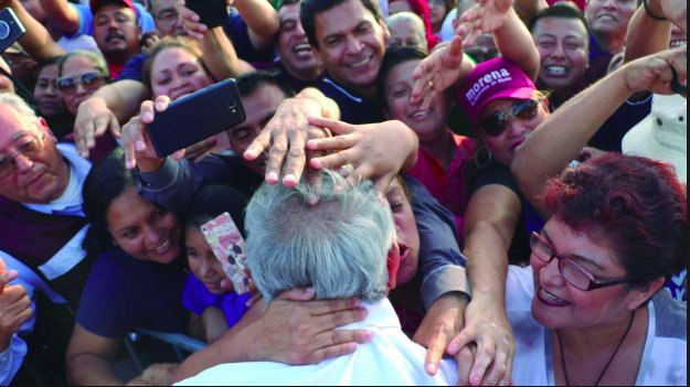 Obrador ya hizo la campaña, no salir a tocar puertas es una ingratitud: Palafox