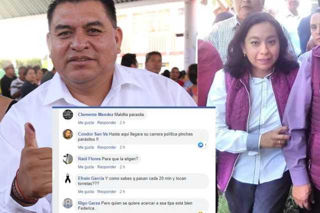 Presidente amoroso de Apetatitlán le pone guaruras a la diputada Rayito