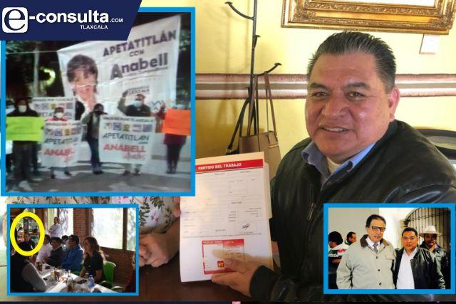 Alcalde amoroso chaquetea de nuevo ahora apoya a Anabell; deja tirado al PT